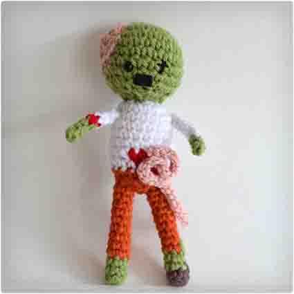 Knit Zombie Doll