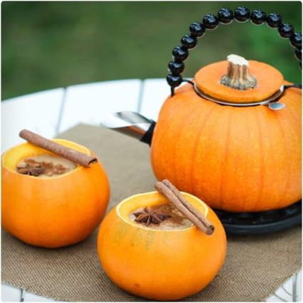 Pumpkin Tea Set