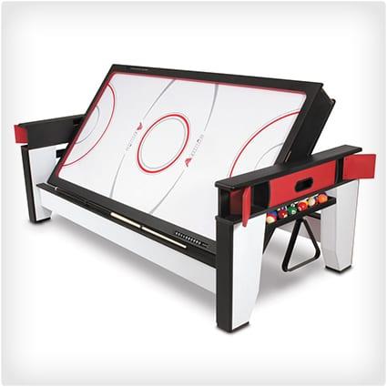 Rotating Billiards Air Hockey