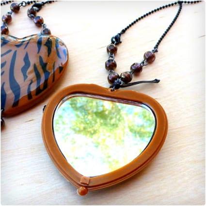 Secret Mirror Necklace
