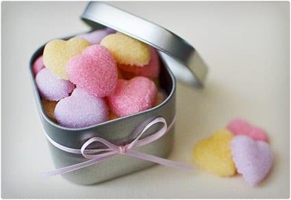 Sugar Heart Candies