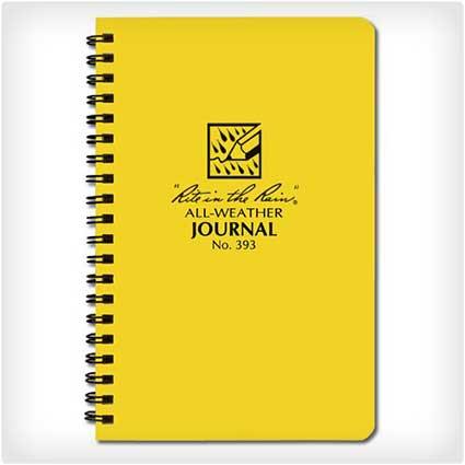 Waterproof-Spiral-Notebook