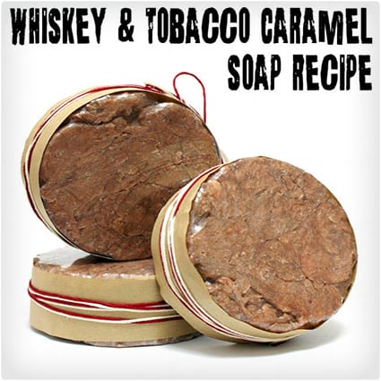 Whiskey and Tobacco Soap