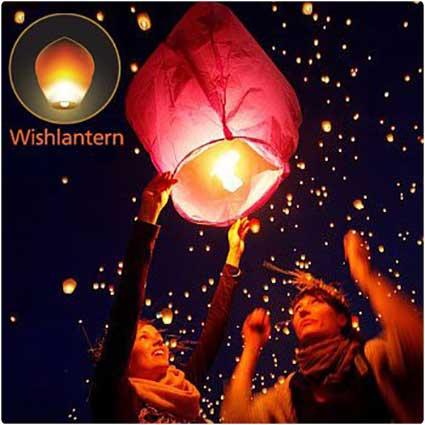 Wish-Lanterns