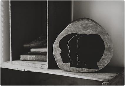 Wooden Silhouette Art