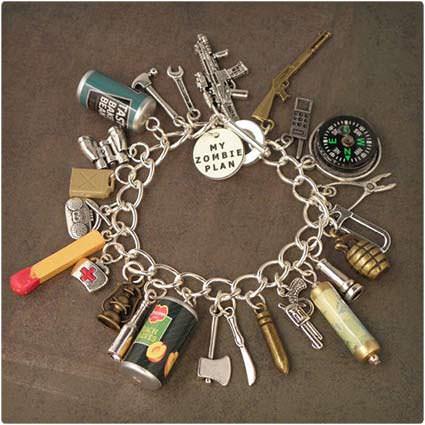 Zombie Plan Charm Bracelet