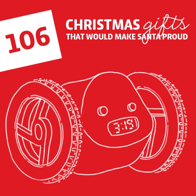 106 Christmas Gifts That Would Make Santa Proud- the most unique gift ideas for Christmas! LOVE this. I was able to find something for everyone on my list.