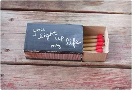 Chalkboard-Matchbook