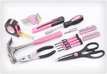 Pink-Tool-Set