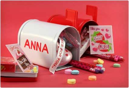 Valentine-Mailboxes