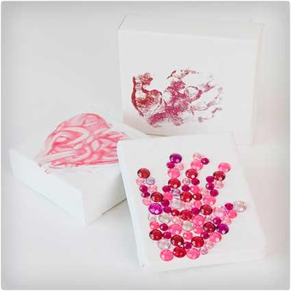 Handprint Valentine Craft