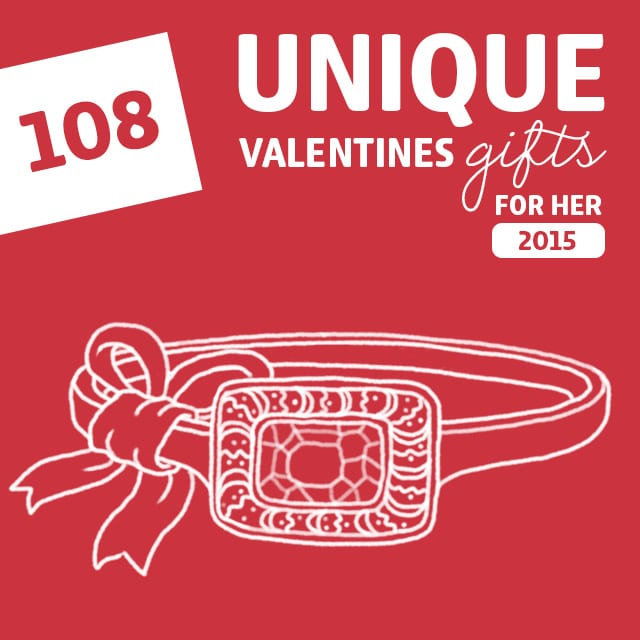 108 most unique valentines gifts for her of 2015 dodo burd