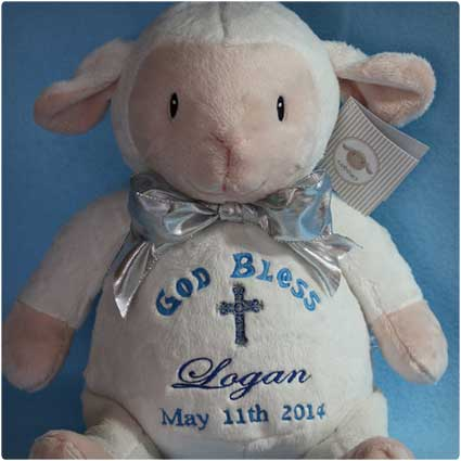 Embroidered-Plush-Lamb