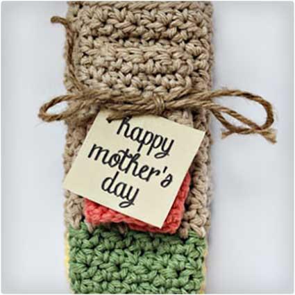 Crocheted-Dishcloths