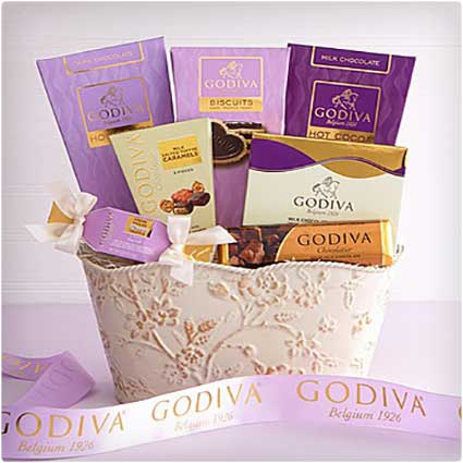 Decadent-Godiva-Sweet-Spring-Gift-Basket