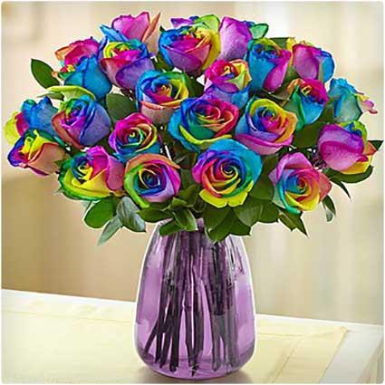 Kaleidescope-Roses