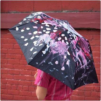 Kid-Painted-Umbrella