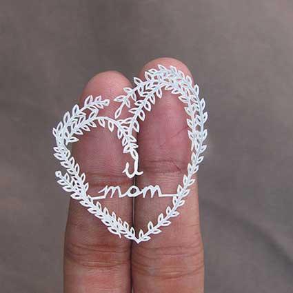 Love-You-Mom-Minature-Papercut