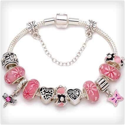 Mother's-Charm-Bracelet