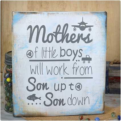 Mother's-Little-Boy-Sign
