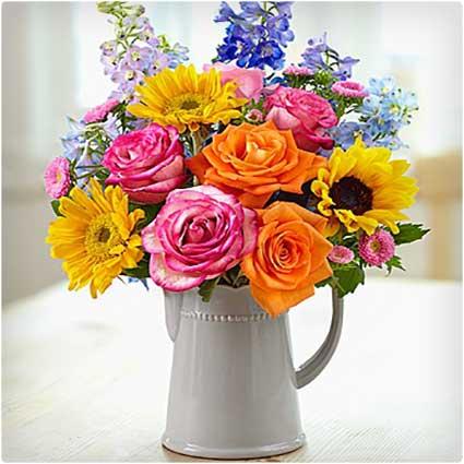 Sunflower-Garden-Bouquet