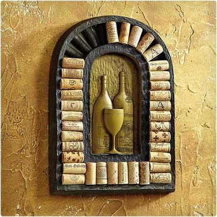 Wall-Art-Cork-Holder