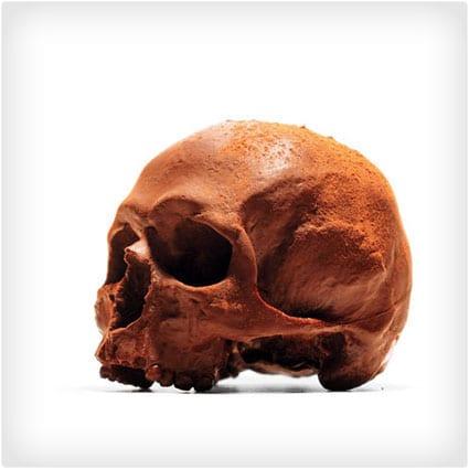 Anatomically Correct Chocolate Skulls