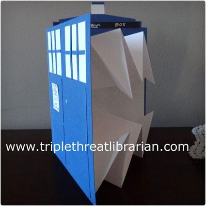 Bigger-on-the-inside TARDIS Cards