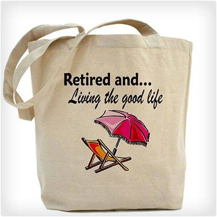 CafePress Retirement Tote Bag