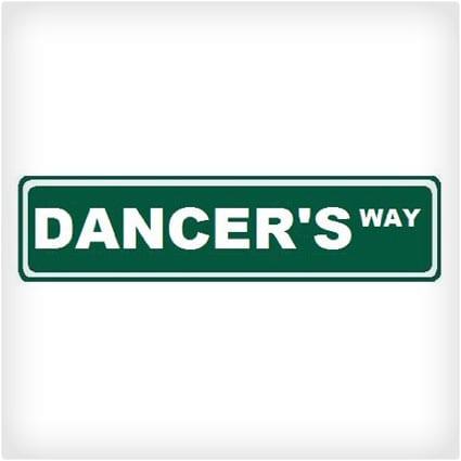 Dancer's Way Custom Street Sign
