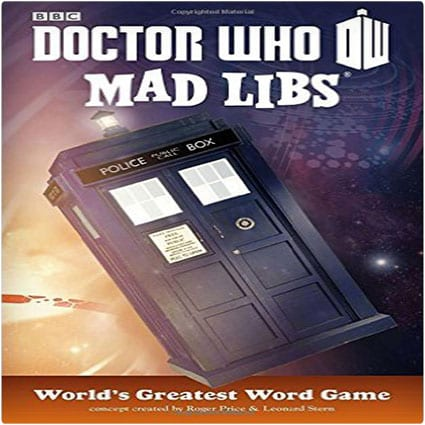 Dr. Who Mad Libs