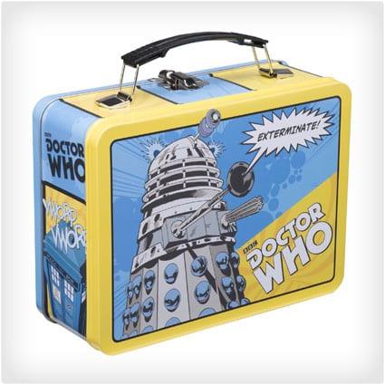 Dr. Who Retro Lunch Box