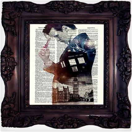 Dr. Who Tardis Print