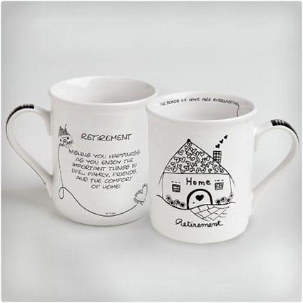 Enesco Children of the Inner Light Retirement Mug With Message Mug