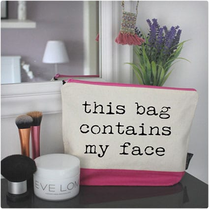 Funny Cosmetic Makeup Bag