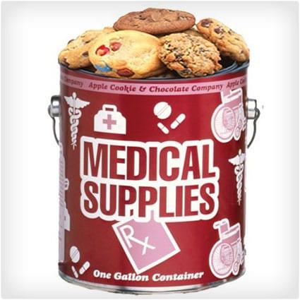 Medical Supplies Cookie Gallon