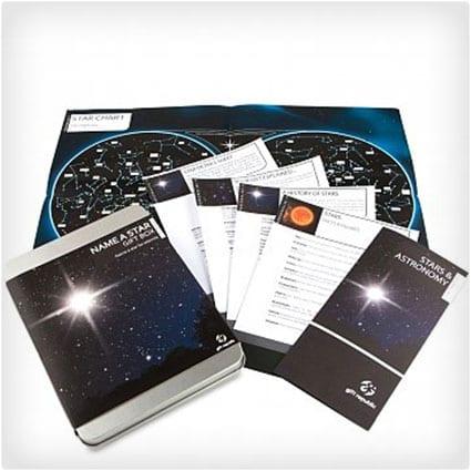 Name a Star Gift Set
