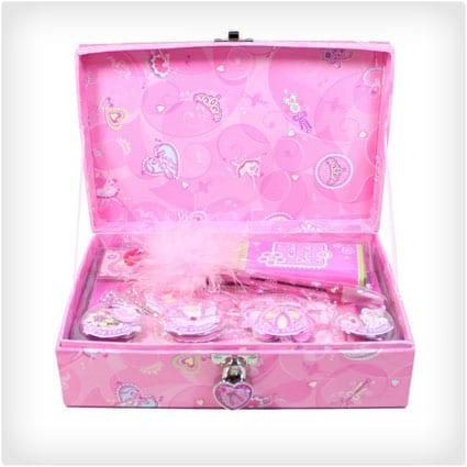 Pecoware: Trinket Box with Accessories & Lock, Little Dancer