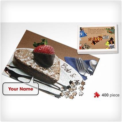 Personalized Chocolate Dessert Jigsaw