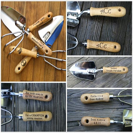 Personalized Garden Tool Set