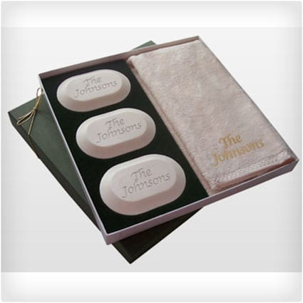 Personalized Soap Original Luxury Gift Set-Name (w/towel)