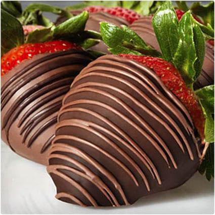 Sugar Free Chocolate Covered Strawberries