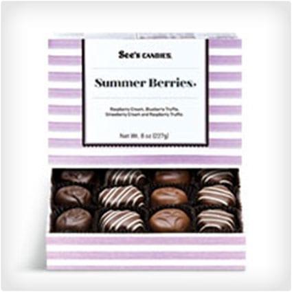 Summer Berries Chocolates