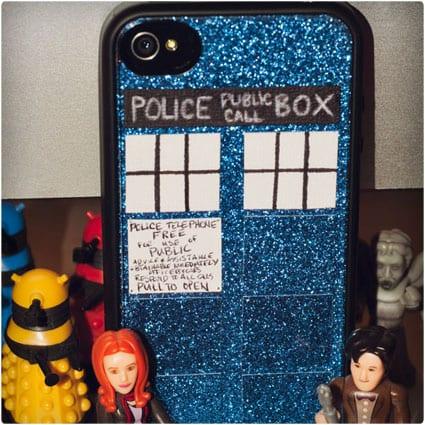 TARDIS Phone Case Tutorial