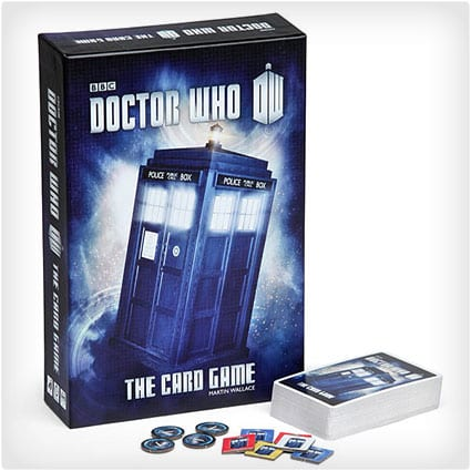 The Official Dr. Who Card Game
