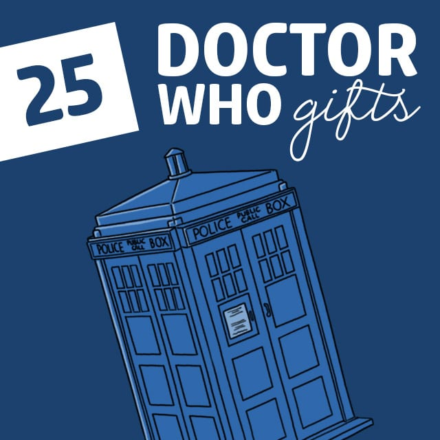 Fans of the show will LOVE these Doctor Who gifts! TARDIS watch anyone?