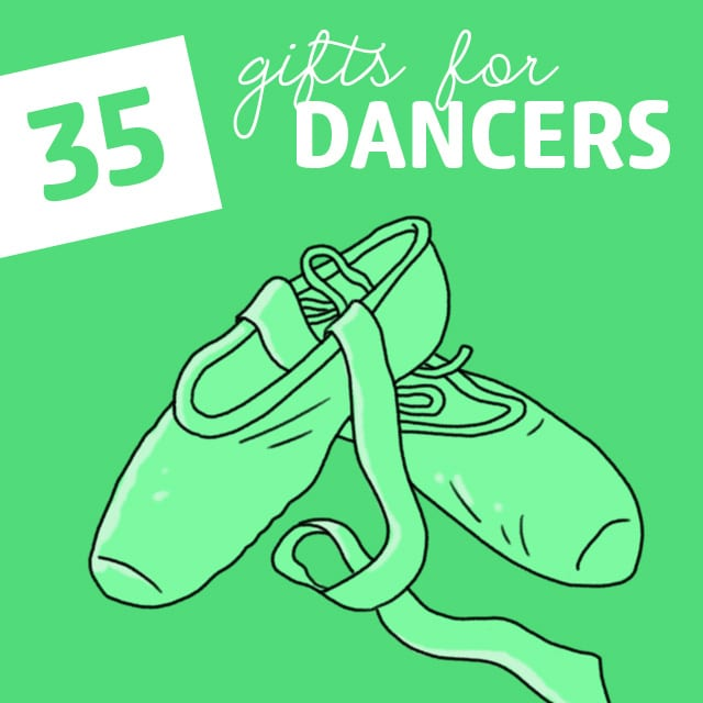 Whether they are pros or beginners, they will be sure to love these creative dance related gifts.