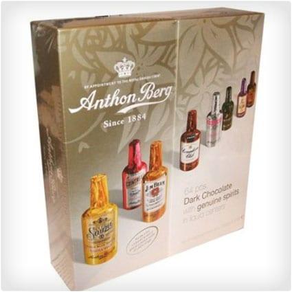 Anthon Berg Dark Chocolate Liqueurs with Original Spirits