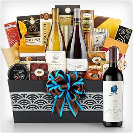 Cape Cod Luxury Wine Basket
