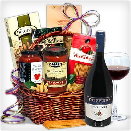 Chianti Wine - Italian Gift Basket